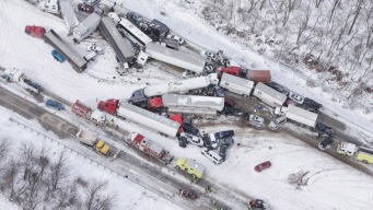 3 Dead, Dozens of Injuries After I-78 Crash