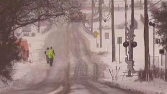 Deadly SUV-Train Crash Amid Winter Storm