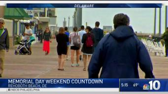 Delaware Beaches Prepare for Memorial Day Weekend