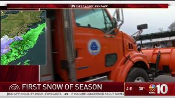 Delaware Braces for Snow