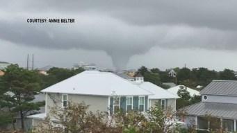 Cellphone Video Shows Tornado in Florida