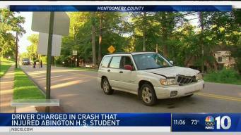 Driver Charged in Crash That Injured Teen