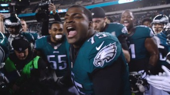 Eagles Players Get Fired Up With Pre-Game Rituals