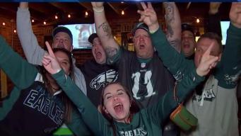 Eagles Take On The Cowboys