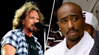 Tupac Shakur, Pearl Jam Lead Rock Hall of Fame Ballot
