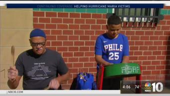 Father and Son Travel from Puerto Rico to Philadelphia