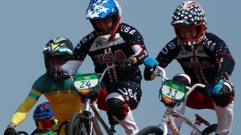All 3 Americans in BMX Quarterfinals Advance to Semis