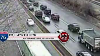 First Alert Traffic: Highways Slow to Near Stop