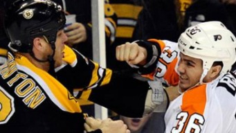 Trouble Bruin': Flyers Lose to Boston