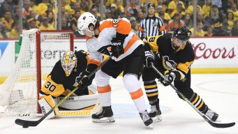 Flyers Shut Out by Penguins 7 to 0 in Game 1 of Playoffs
