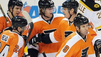Flyers Snap Losing Streak