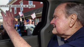 George H.W. Bush Hospitalized for Fatigue