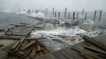 'Threat Becomes Reality': Florence Begins Days of Rain, Wind