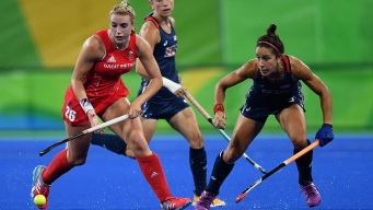 Women's Field Hockey: Great Britain Defeats US 2-1