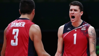 Comeback! US Men's Volleyball Tops Russia for Bronze
