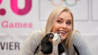 'Just Being Safe': Germophobe Vonn Wears Gloves Pretty Much Everywhere