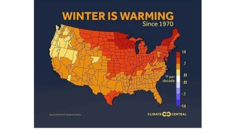 Warming and Melting Trends Continue