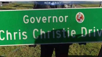 Groundbreaking on 'Governor Chris Christie Drive'