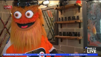 Flyers' Fans Go Behind the Scenes with Gritty
