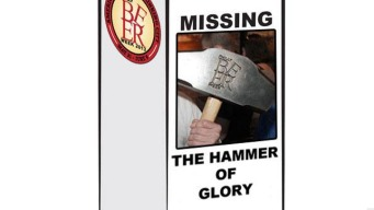 Hammer of Glory Found