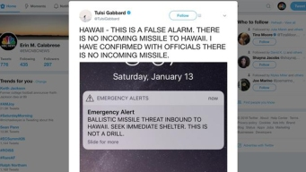 Missile-Alert Error Reveals Uncertainty About How to React