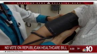 Vote on Health Care Bill Delayed