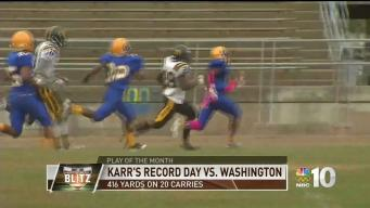 Play of the Month: Sam Karr Sets Public League Record