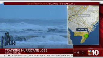Jose Creating Dangerous Conditions Along Jersey Shore
