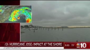 Hurricane Jose to Impact the Shore