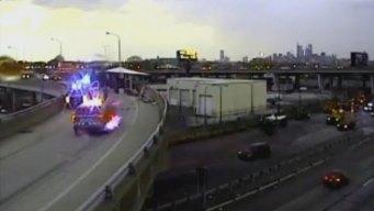 1 Dies in Crash Involving Truck Hauling Watermelons