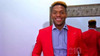 He's Got the Look: Rodney McLeod Goes Suit Shopping