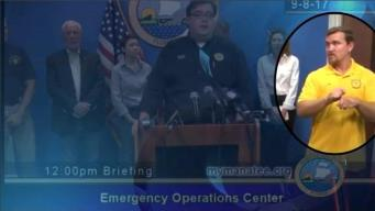 Interpreter Warned of 'Bears' & 'Monsters' at Irma Briefing