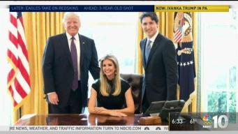 Ivanka Trump Promotes Dad's Tax Plan in Pa.