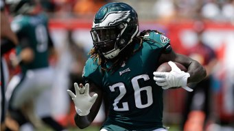 Ajayi Out for the Season After Tearing ACL