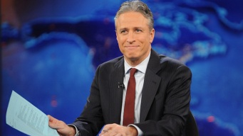 "Jon Stewart Makes Return to ""The Daily Show"""