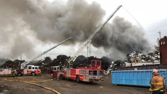 Junkyard Fire Leads to Train Delays in Philly, NY, NJ