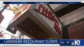 Landmark Center City Diner Closes