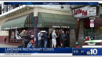 Landmark Center City Restaurant Closes