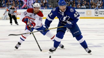 Lightning Oust Canadiens With 4-1 Win in Game 6