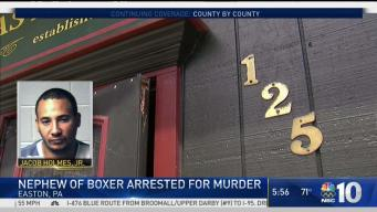 Local Boxing Legend's Nephew Arrested for Murder