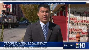 Local Impact of Hurricane Maria