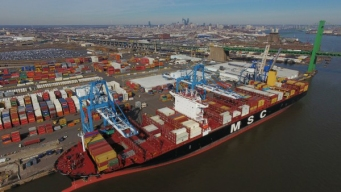 Here's How Big the Largest Ship Ever in Philly Actually Is