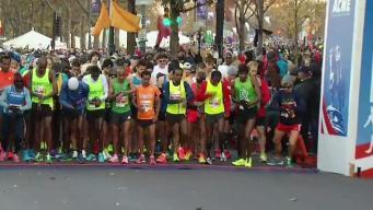 Marathoners Not Deterred by Weather
