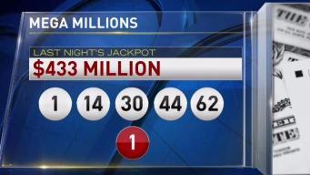 Mega Million Lottery Nears Half a Billion Dollars
