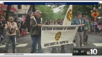 Memorial Day Honored Across the Region