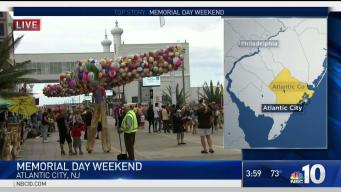 Memorial Day Weekend Kicks off in Atlantic City