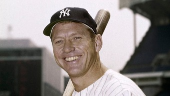 Mickey Mantle's Family Donates $40K to Sandy Fund