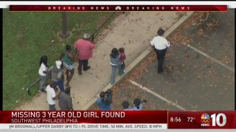 Girl, 4, Safe After Going Missing