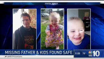 Missing NJ Father and 2 Kids Found Safe