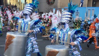 Mummers Parade Offers New Year a Lively Welcome